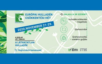 November 21-29. között: Európai Hulladékcsökkentési Hét
